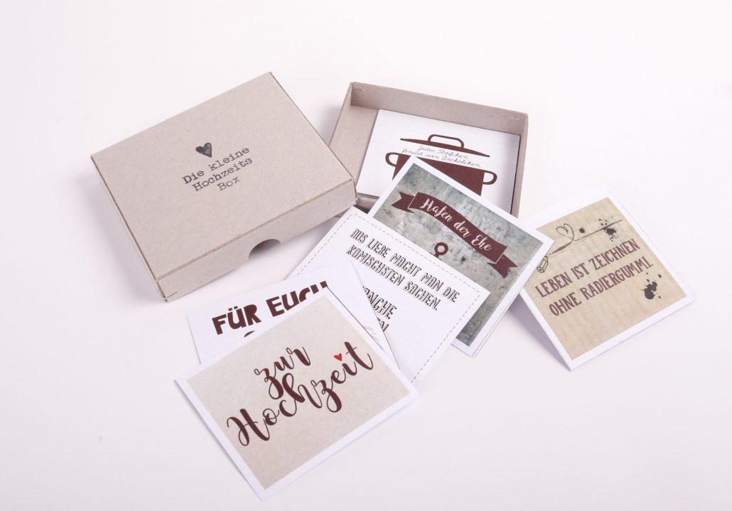 Geschenkebox für Hochzeiten