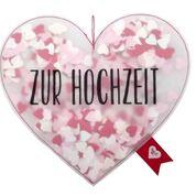 Konfetti in Herzform für Hochzeiten