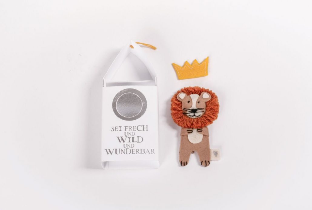 Löwe Geschenk Figur